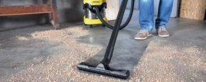 aspirateur eau et poussières puissant