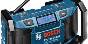 radio de chantier meilleure Bosch