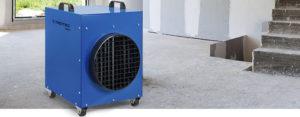 meilleur chauffage d'atelier de chantier pas cher